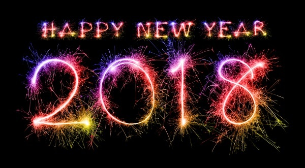 happy new year 2018 blog into the music