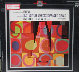 Suited For Unaccompanied Cello 3 LP Box