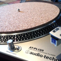 Audiophile Cork Slipmat